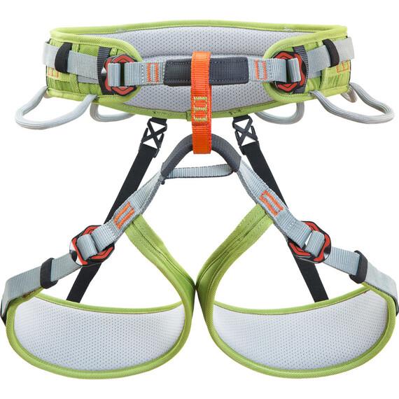 Climbing Technology Klettergurt : Climbing technology ascent harness grey green campz